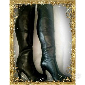 Luichiny Leather Boots